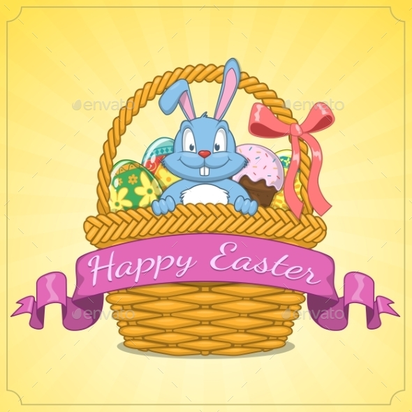 GraphicRiver Easter Background 10715591
