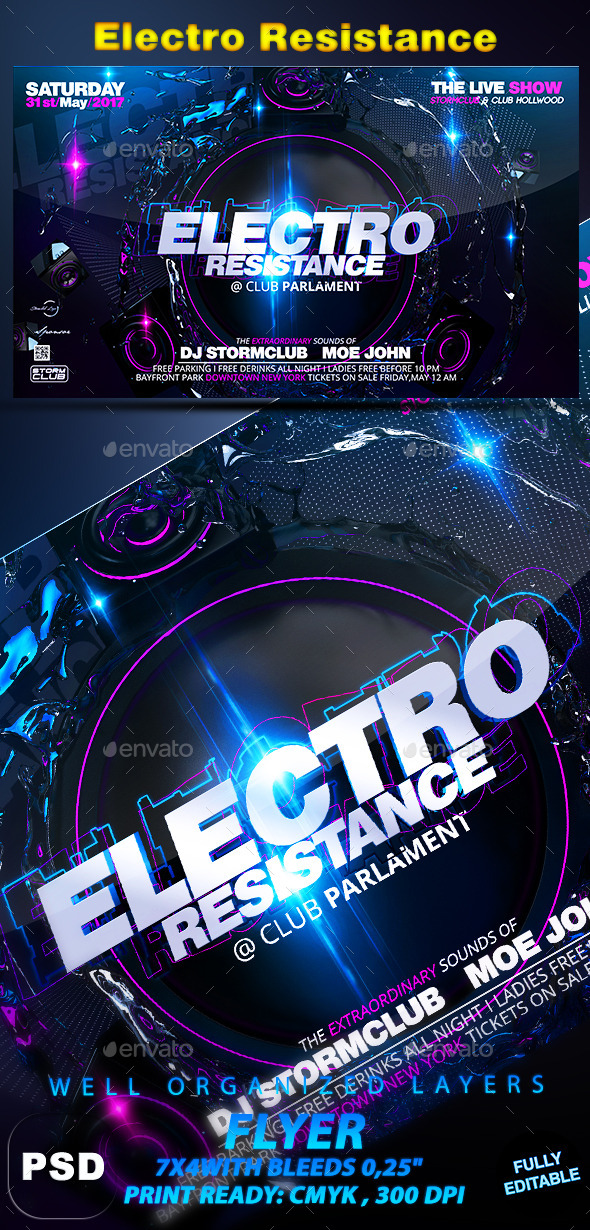 GraphicRiver Electro Resistance 10715628