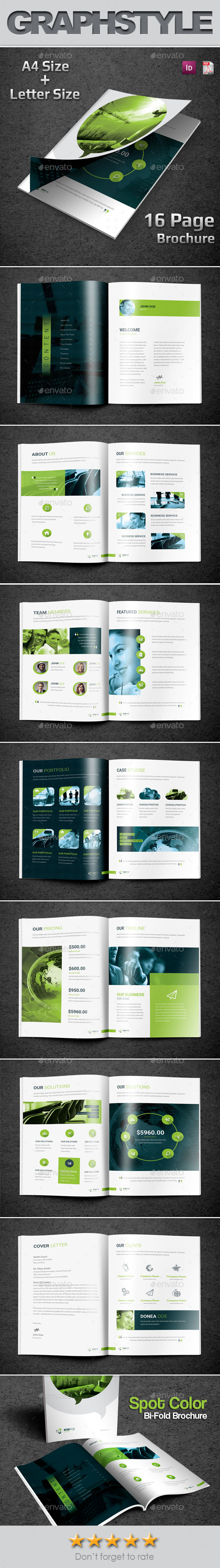 GraphicRiver Korpoe Corporate Bi-Fold Brochure 10715725