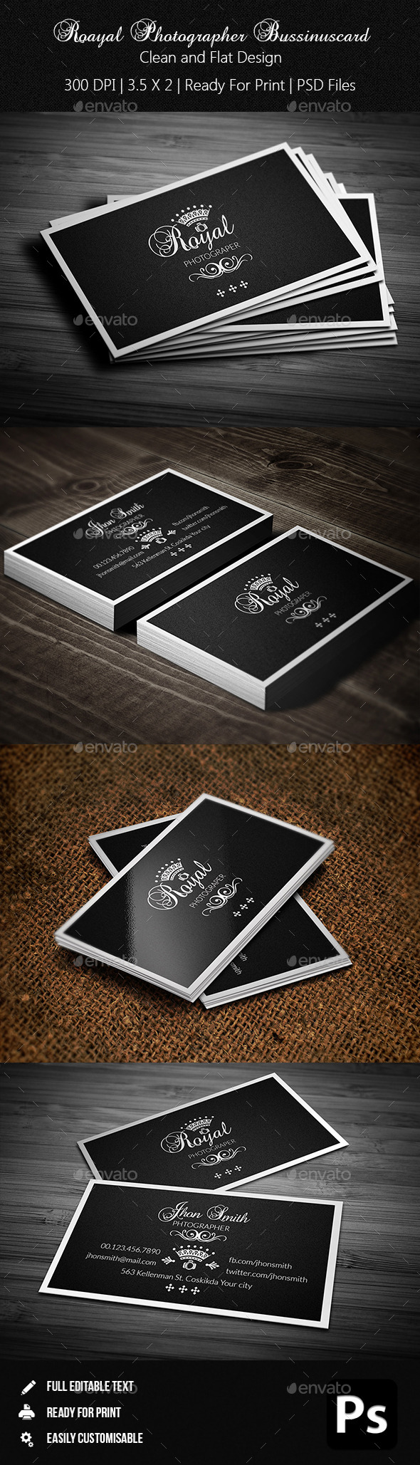 GraphicRiver Creative Photographer Business Card 03 10715825