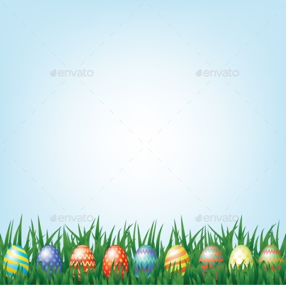 GraphicRiver Easter Background 10715846