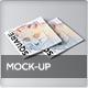 Square Brochure / Magazine Mock-Up - GraphicRiver Item for Sale