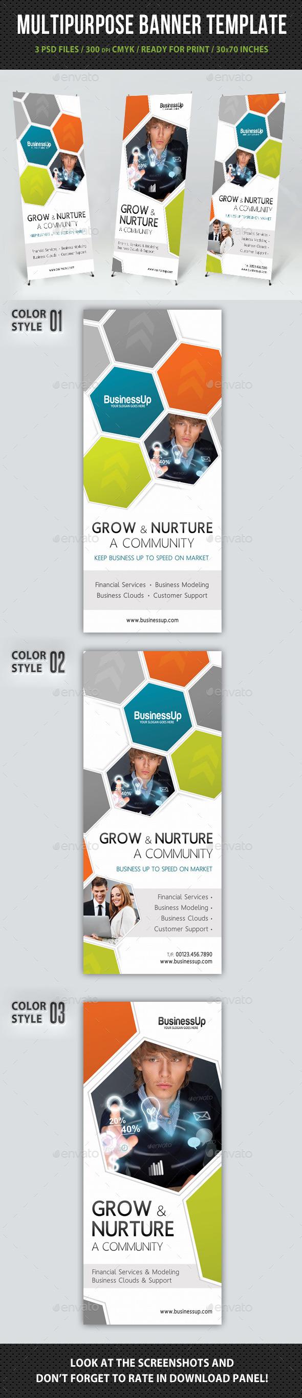 GraphicRiver Multipurpose Banner Template V08 10717025