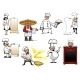 Variety Cartoon Chefs and Bakers - GraphicRiver Item for Sale