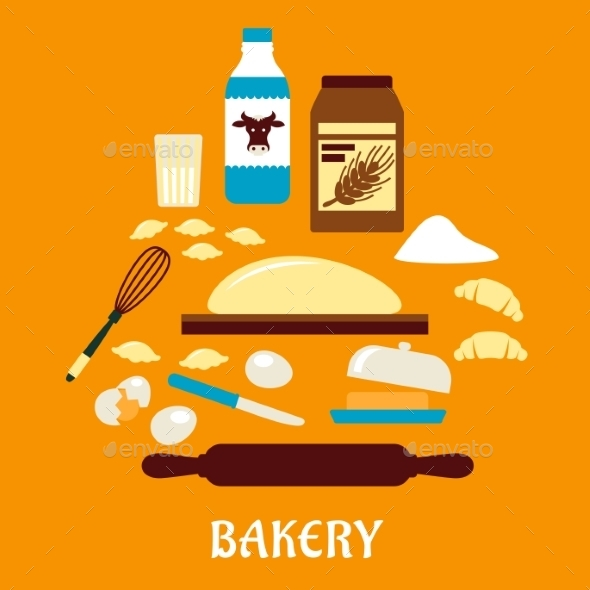 GraphicRiver Process of Kneading Dough 10717053