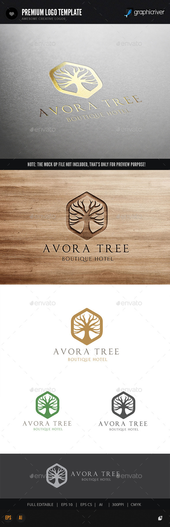 GraphicRiver Tree Logo 10717202