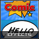 Comic Text Effects - GraphicRiver Item for Sale