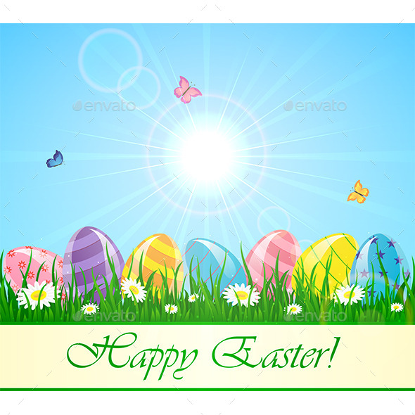 GraphicRiver Happy Easter 10717267