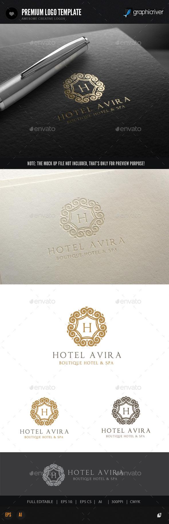 GraphicRiver Hotel Logo II 10717272