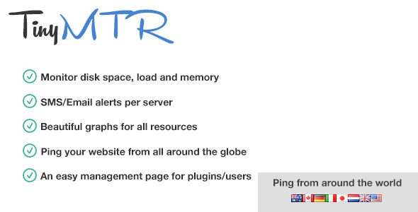 TinyMTR - Simple Server Monitoring - CodeCanyon Item for Sale