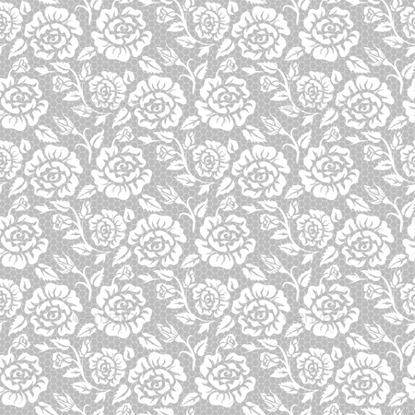 GraphicRiver Roses Pattern 10717672