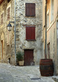 Cobbled streets in the old village Lyuseram, France - PhotoDune Item for Sale
