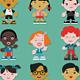 Multicultural Kids Creation Kit - GraphicRiver Item for Sale