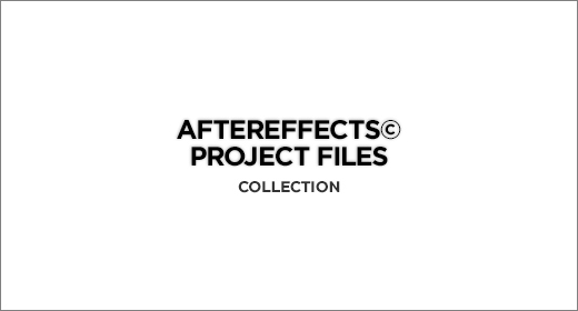 AfterEffects© Project Files