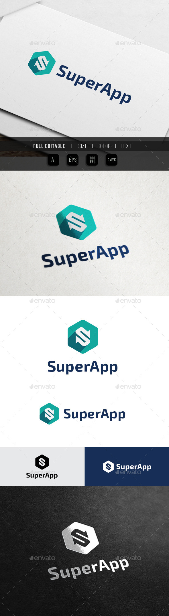 GraphicRiver Super Switch App Letter S 10718302