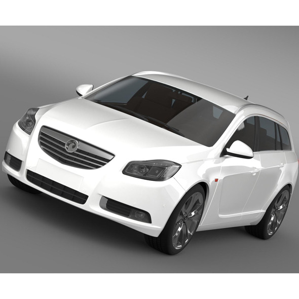 Vauxhall Insignia 4x4 BiTurbo Sports Tourer 2013 - 3DOcean Item for Sale