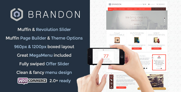 Brandon - Responsive Multi-Purpose WordPress Theme - Business Corporate