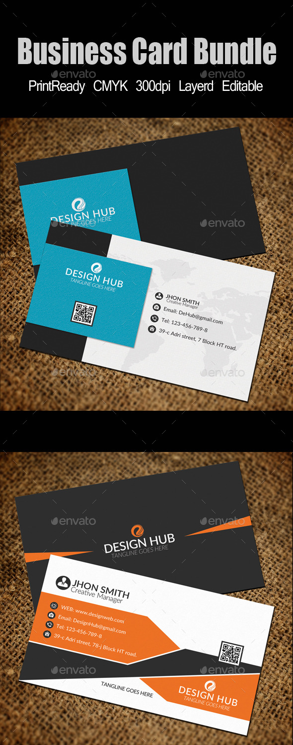 GraphicRiver Business Card Template Bundle 10718663