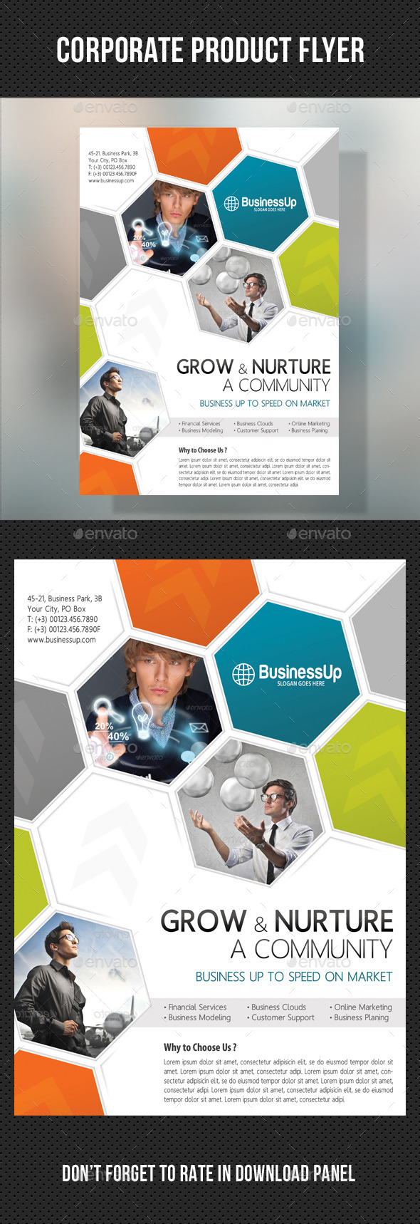 GraphicRiver Corporate Business Flyer 02 10718753