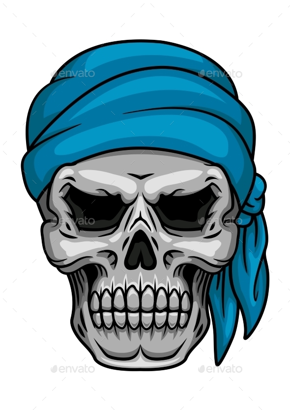 GraphicRiver Pirate Skull 10718763