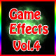Game Effects vol.4 - GraphicRiver Item for Sale