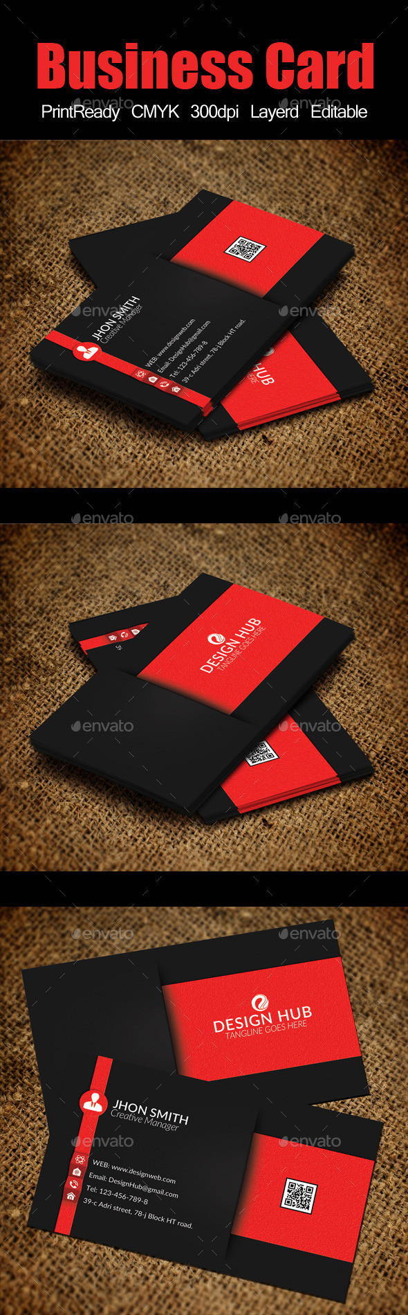 GraphicRiver Business Card Template 10720274