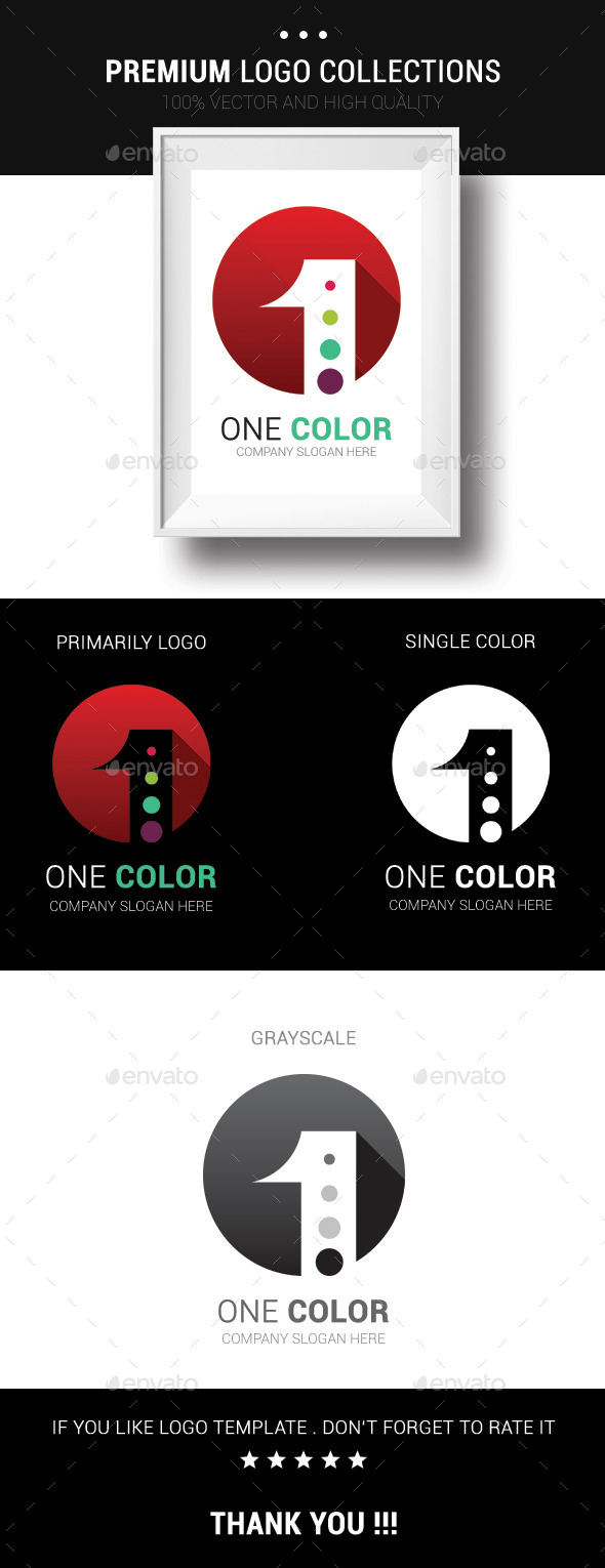 GraphicRiver One Color 10720340