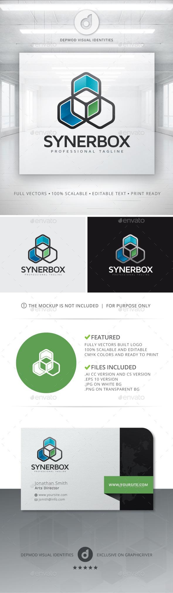 GraphicRiver Synerbox Logo 10703386