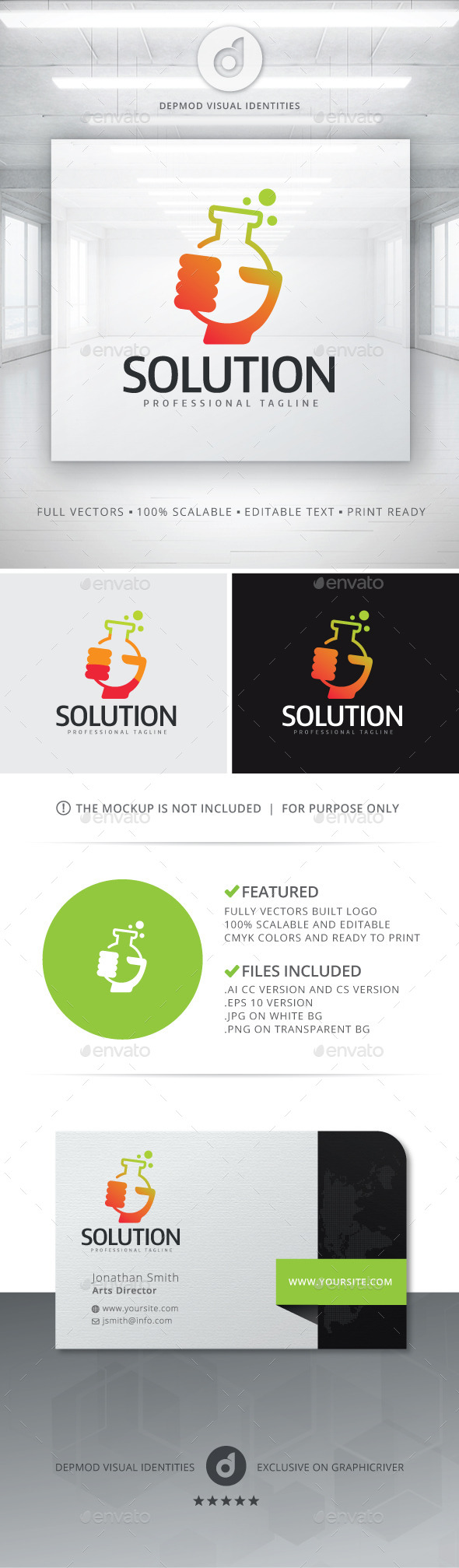 GraphicRiver Solution Logo 10720479