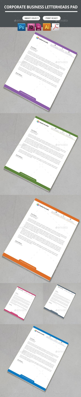GraphicRiver Creative & Modern Letterhead Pad 10720506