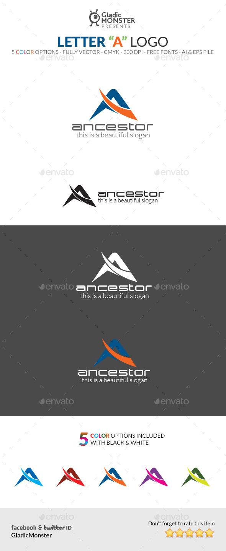 GraphicRiver Letter A Logo 10720632