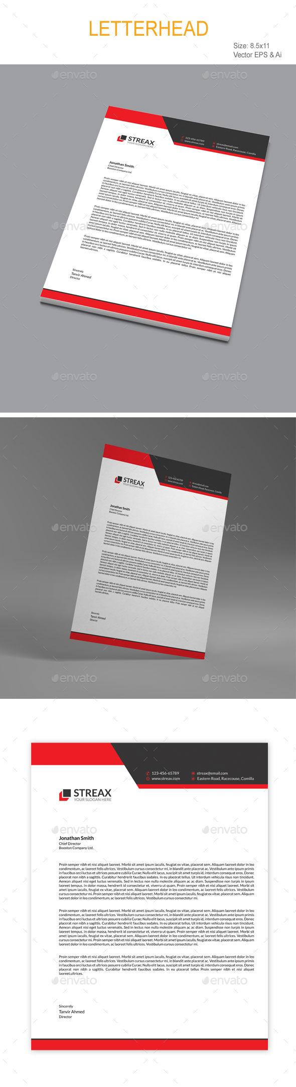 GraphicRiver Letterhead 10720791