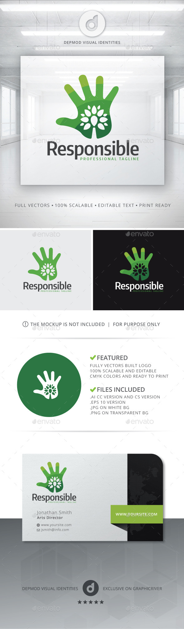 GraphicRiver Responsible Logo 10720794