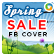 Spring Sale Facebook Cover - GraphicRiver Item for Sale
