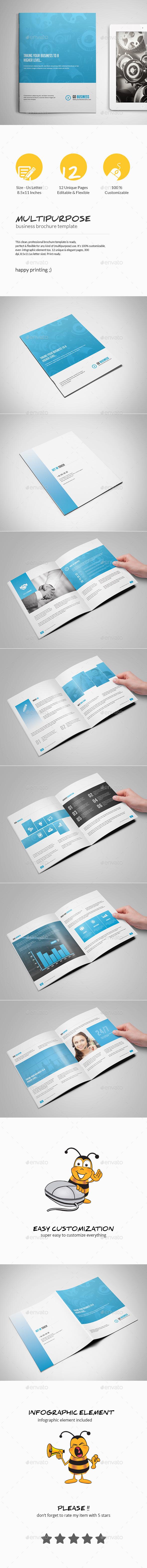 GraphicRiver Multipurpose Business Brochure Template 10721375