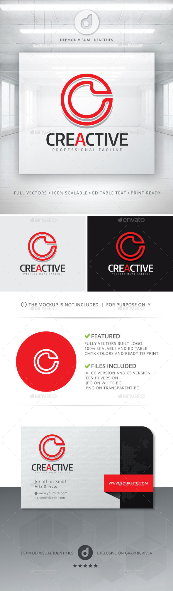 GraphicRiver Creactive Logo 10721632