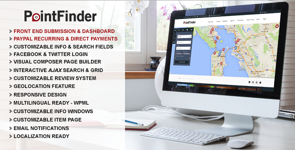 Point Finder - Versatile Directory & Listing Theme - Directory & Listings Corporate