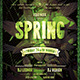 Spring Equinox Flyer Template - GraphicRiver Item for Sale