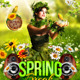 Spring and Easter Flyer Template - GraphicRiver Item for Sale