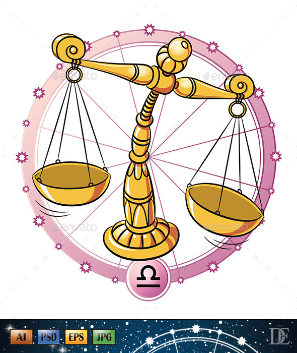 GraphicRiver Astrology Sign Libra 10723016