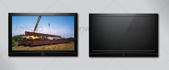 GraphicRiver Flat Panel Television 44337