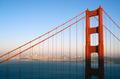 Sunset San Francisco Golden Gate Bridge Pacific Ocean West Coast - PhotoDune Item for Sale