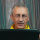 Portrait Smiling Man Reading a Tablet - VideoHive Item for Sale