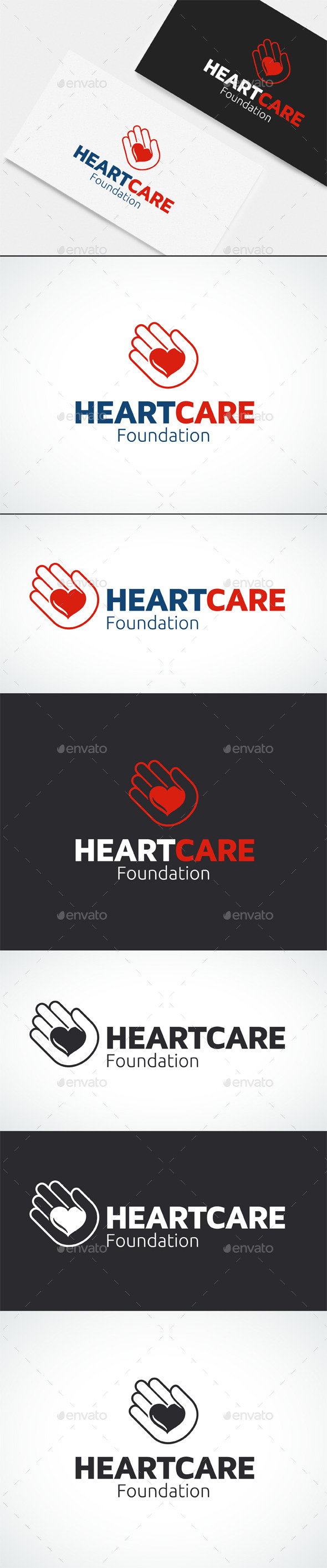 GraphicRiver Healthcare Charity Logo Template 10723298