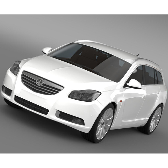 Vauxhall Insignia 4x4 Sports Tourer 2013 - 3DOcean Item for Sale