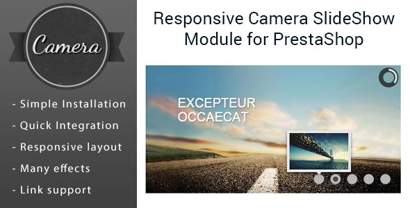 CodeCanyon Responsive Camera Slider Images Module for PrestaShop 10562544
