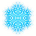 Abstract blue shape like a snowflake - PhotoDune Item for Sale