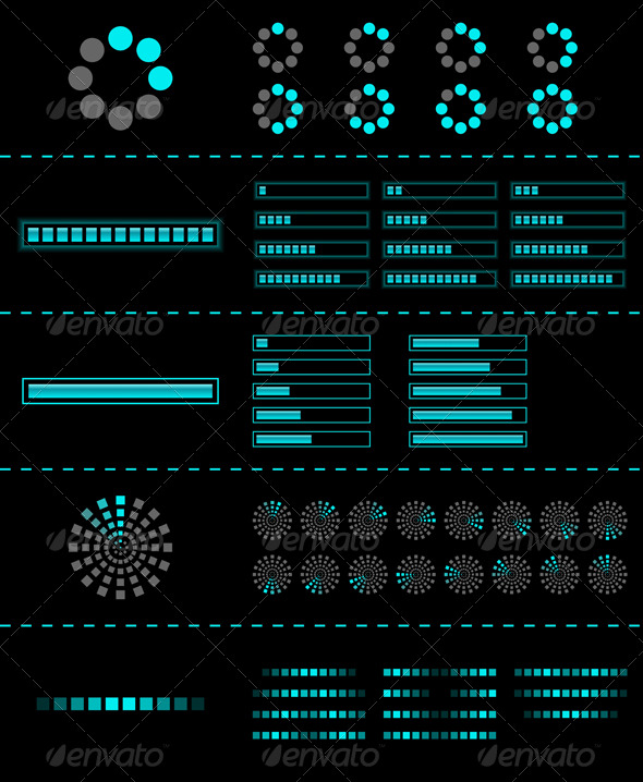 GraphicRiver Vector preloader 134021