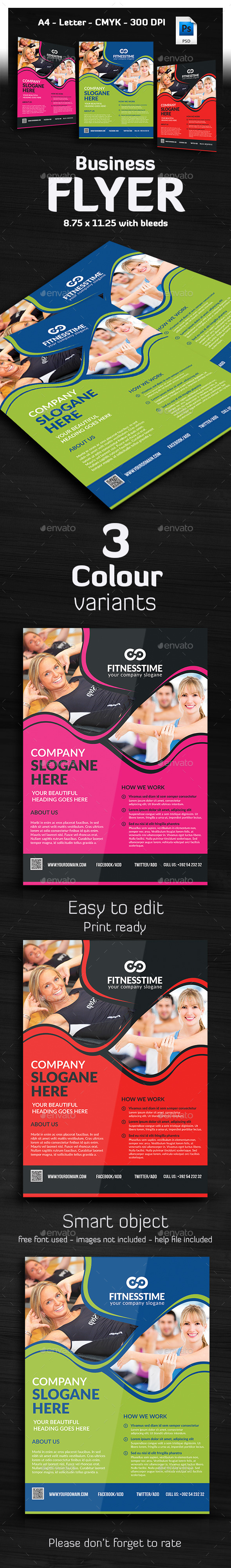 GraphicRiver Ultimate Business Flyer 10723914