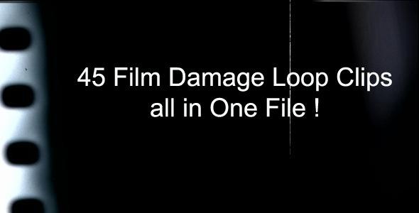 Film Damage Loop Clips Pack